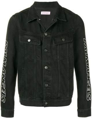 Palm Angels side printed jacket
