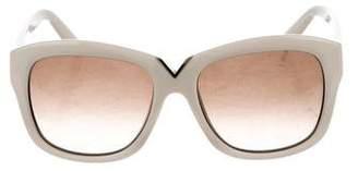 Valentino Oversize Gradient Sunglasses