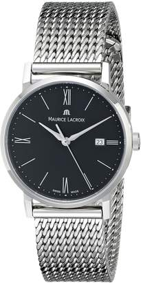 Maurice Lacroix Women's EL1084-SS002-310 Eliros Analog Display Quartz Silver Watch