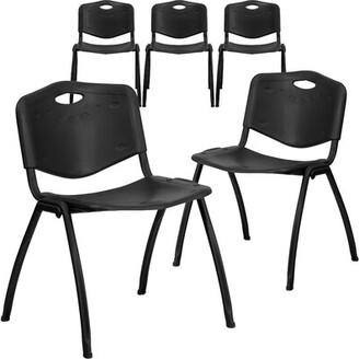 Symple Stuff Laduke Armless Stacking Chair Symple Stuff