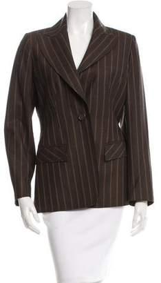 Valentino Striped Wool Blazer