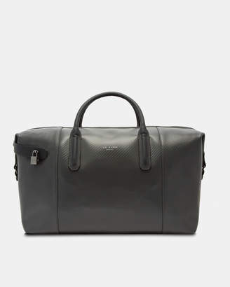 Ted Baker SPORTI Carbon fibre leather holdall