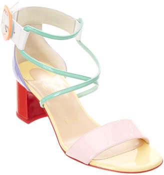 Christian Louboutin Choca 55 Patent Sandal