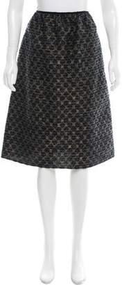Golden Goose Bouclé Patterned Skirt