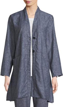 Masai Jo Herringbone Linen Jacket