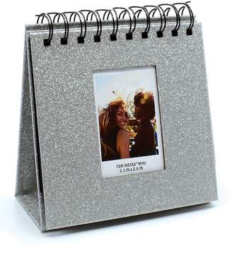 AUDIOLOGY Silver Instax Glitter Flipboard Desk Album