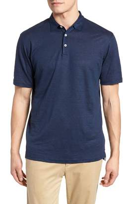 Peter Millar Summertime Linen Polo