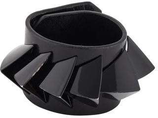 Givenchy 3D Triangles Leather Bracelet