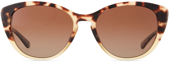 Oliver Peoples Haley Cat-Eye Sunglasses, Spotted Tortoise