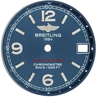 Breitling a7738011 / c677コルトOceane II 24 mmブルーダイヤルfor 33 mm時計