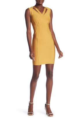 Wow Couture Chest Cutout Bandage Dress