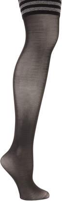 Emilio Cavallini Over-The-Knee Varsity Striped Socks