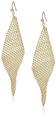 Jules Smith Designs Mesh Wave Drop Earrings