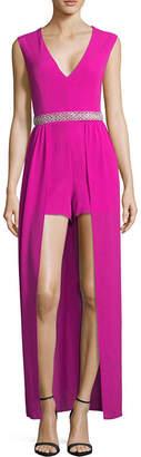 CRYSTAL SKY Crystal Sky Sleeveless Embellished Maxi Dress-Juniors