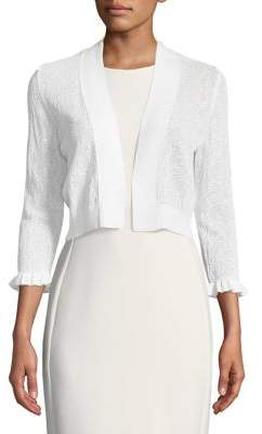 Calvin Klein Long-Sleeve Open Front Cardigan