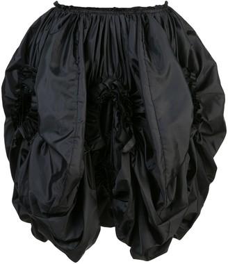 Comme des Garcons high-waist ruffled skirt