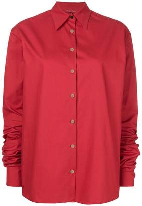 Margaux Rouge extra long sleeve shirt