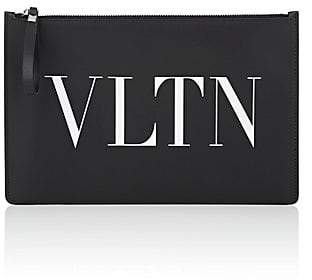 Valentino Men's Large Leather Pouch