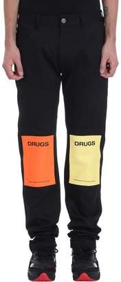 Raf Simons Black Denim Regular Jeans