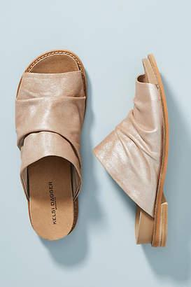 Anthropologie Kelsi Dagger Brooklyn Occupy Slide Sandals