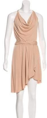 Haute Hippie Belted Mini Dress