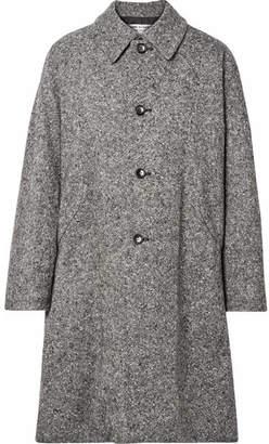 Comme des Garcons Oversized Wool-blend Tweed Coat - Gray