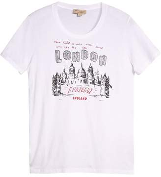 Burberry Icons Print T-shirt