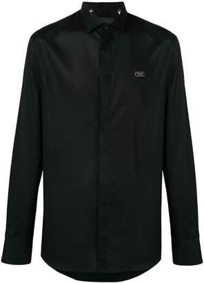 Philipp Plein structured collar shirt