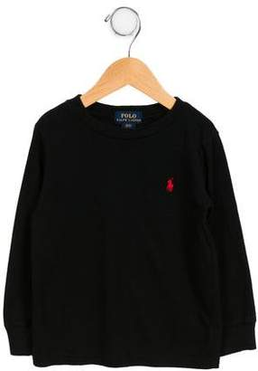 Polo Ralph Lauren Boys' Long Sleeve Crew Neck T-Shirt