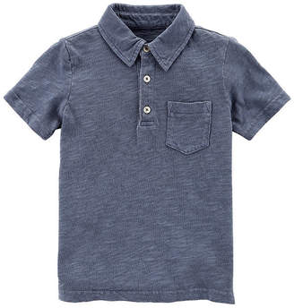 Carter's Short Sleeve Collar Neck T-Shirt-Toddler Boys