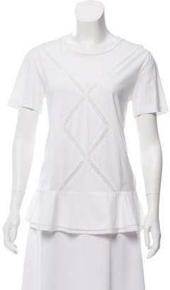 Thakoon Lightweight Short Sleeve Top