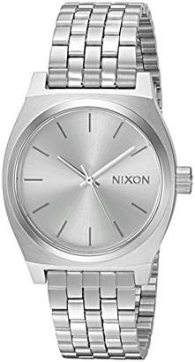 Nixon Women's 'Medium Time Teller' Quartz Metal and Stainless Steel Watch