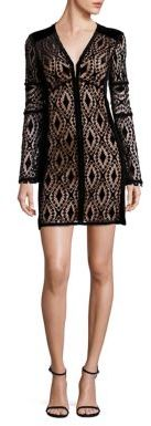 Nanette Lepore Cabaret Lace Tunic Dress $628 thestylecure.com
