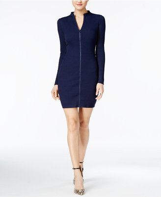 GUESS Gibson Ribbed Sweater Dress $89 thestylecure.com