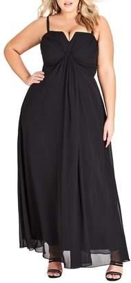 City Chic Serene Maxi Dress