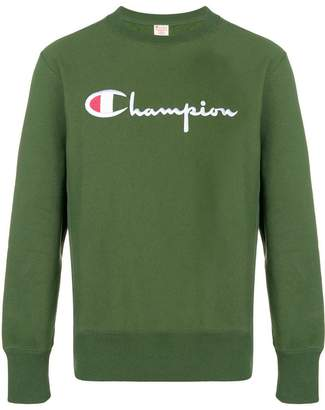 Champion classic logo jersey sweater