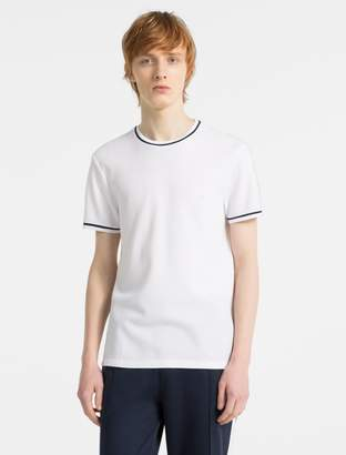 Calvin Klein slim fit waffle cotton t-shirt