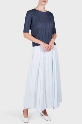 Pleats Please Issey Miyake Maxi Skirt