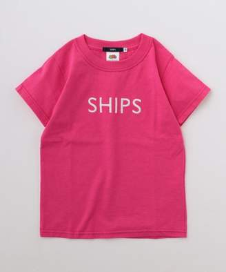 Ships (シップス) - SHIPS KIDS FRUIT OF THE LOOM:<ファミリーおそろい>【SHIPS別注】ロゴ T(90~145cm)