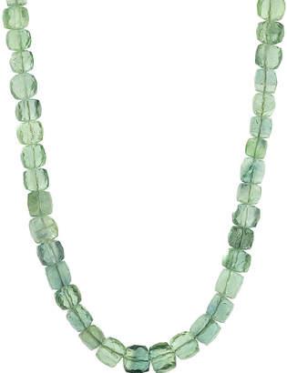 Lori Kaplan Jewelry Fluorite Square Beaded Necklace