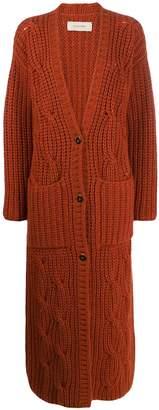 Gentry Portofino long cashmere cardigan