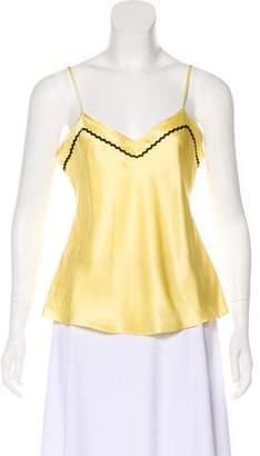 Marysia Swim Sleeveless Silk Top w/ Tags
