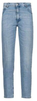 HUGO Boss Slim-fit cropped jeans in Italian stretch denim 28/32 Blue