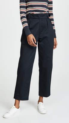 MAISON KITSUNÉ Plain Jeanne Worker Pants