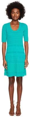 M Missoni Solid Rib Stitch Dress Women's Dress