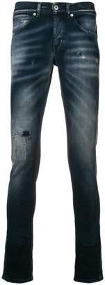 Dondup mid-rise stonewashed skinny jeans