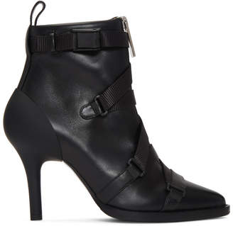 Chloé Black Closed Strap Tracy Boots