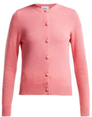 Barrie Arran Pop Cashmere Cardigan - Womens - Pink