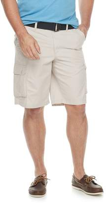 Sonoma Goods For Life Big & Tall SONOMA Goods for Life Belted Twill Cargo Shorts