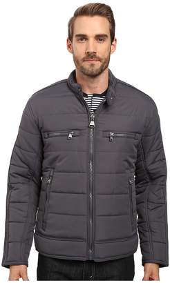 Andrew Marc Belknap Quilted Moto Jacket Men's Coat